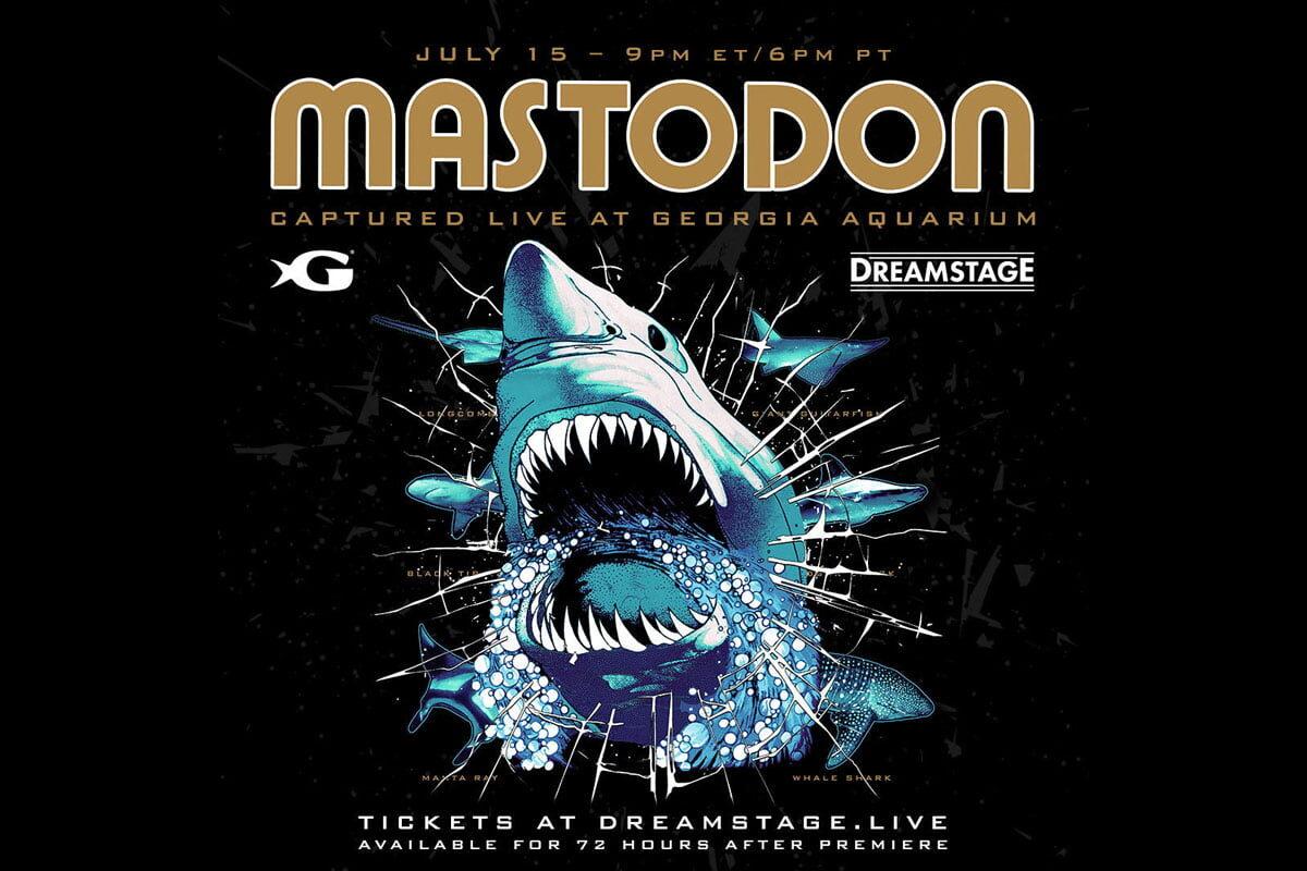 Amerykański zespół Mastodon wystąpi w… akwarium