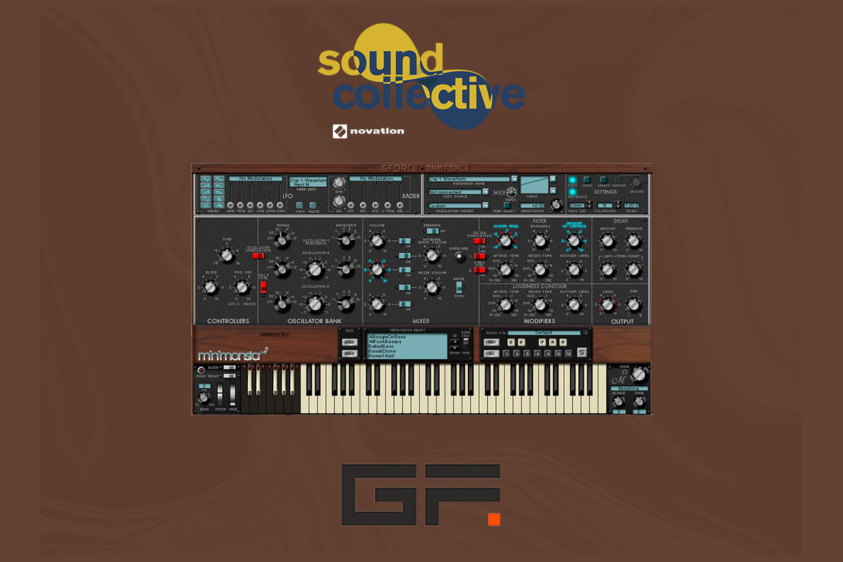 Novation Sound Collective: GForce Minimonsta