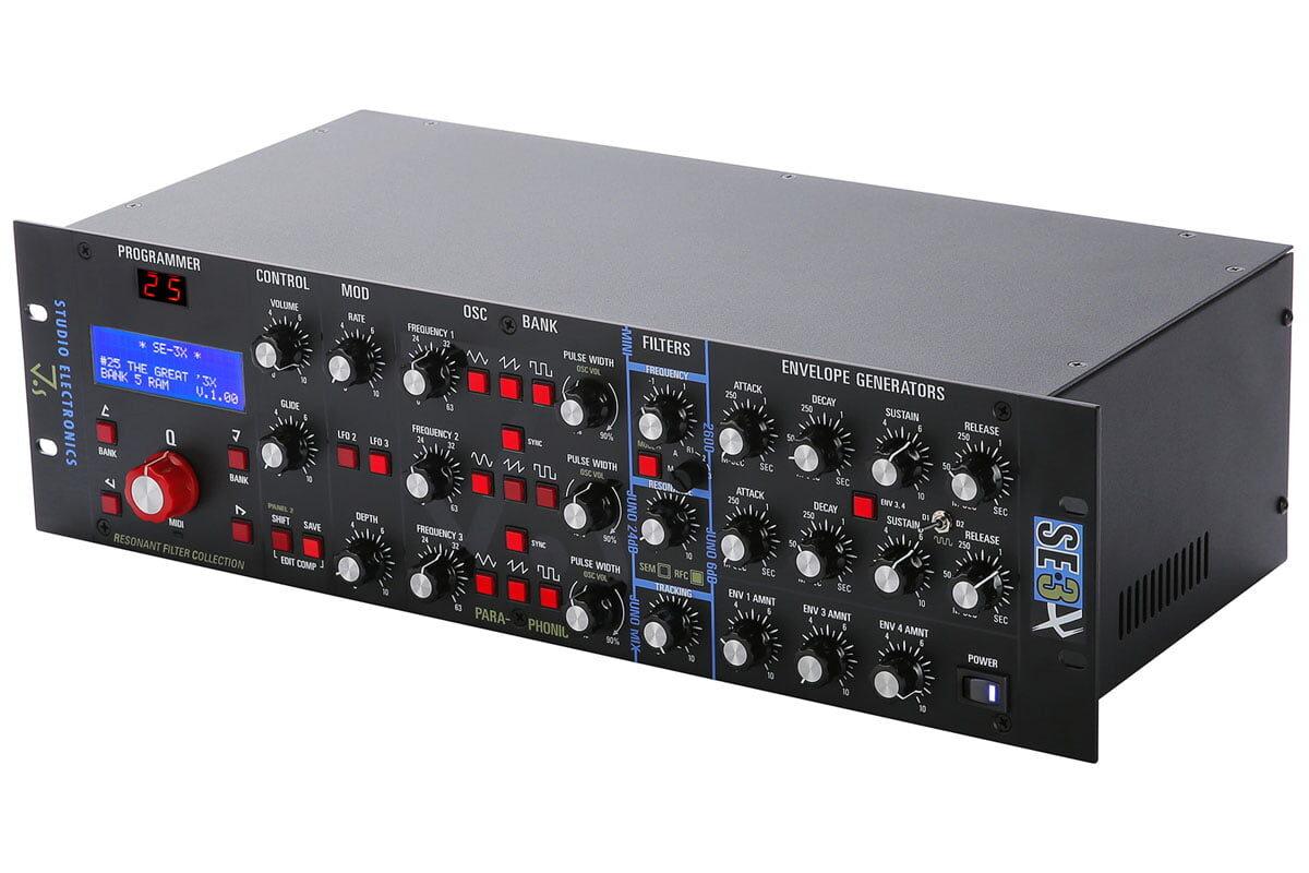 Studio Electronics SE-3X – nowy syntezator analogowy