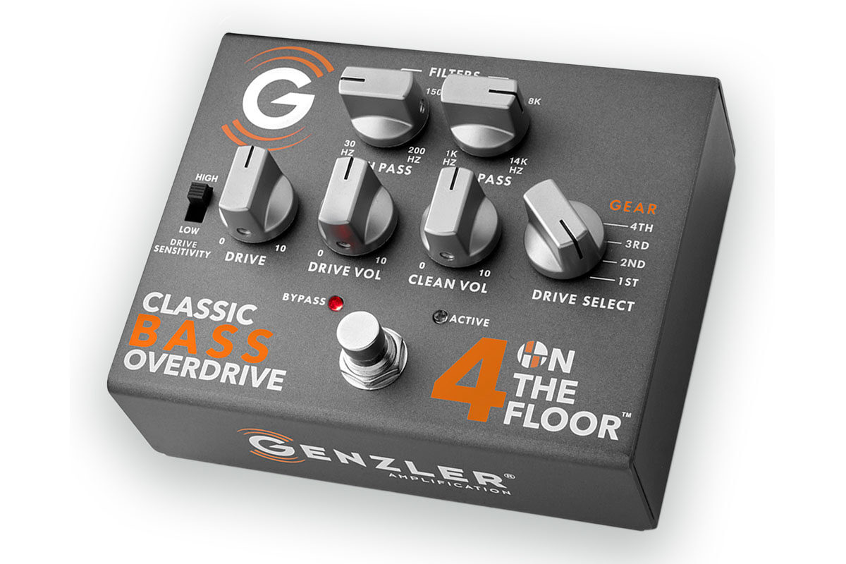 Genzler 4 ON THE FLOOR Classic Bass Overdrive