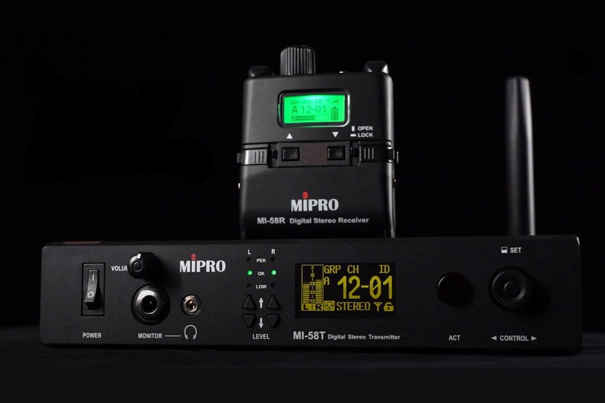 Mipro MI-58 – prezentacja wideo