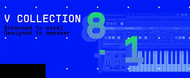 Arturia V Collection 8.1 – darmowa aktualizacja