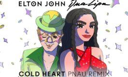 "Elton John i Dua Lipa w remiksie ""Cold Heart"""