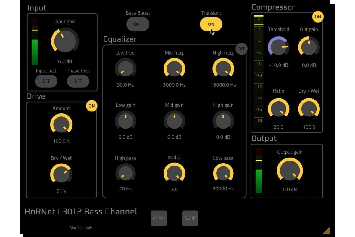 HoRNet L3012 Bass Channel – wtyczka nie tylko dla basistów