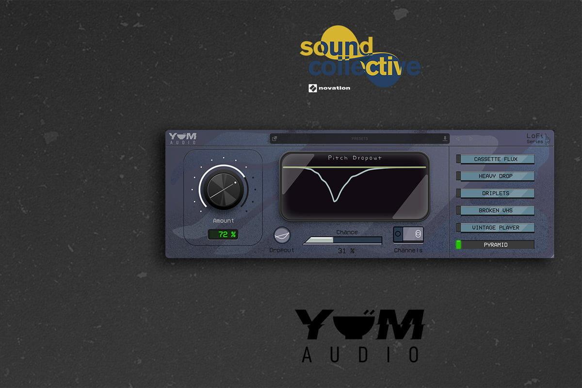 Novation Sound Collective: Yum Audio LoFi Pitch Dropout