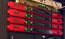Focusrite RedNet HD32R w studiu Bang Zoom! Entertainment