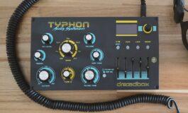 Syntezator Dreadbox Typhon z nowymi możliwościami