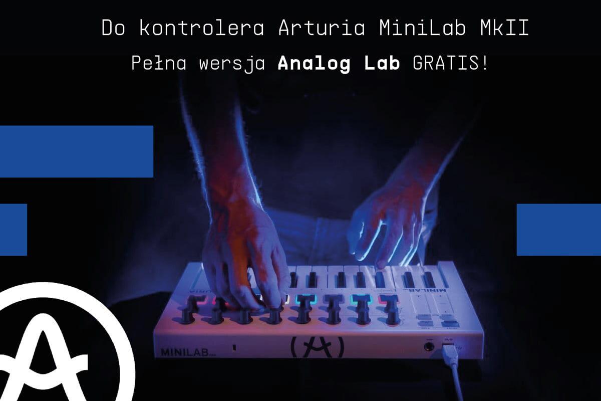 Pełna wersja Analog Lab z klawiaturą Arturia MiniLab Mk II