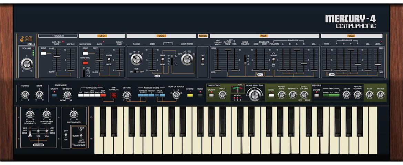 Cherry Audio Mercury-4 – wirtualny powrót analogowego klasyka