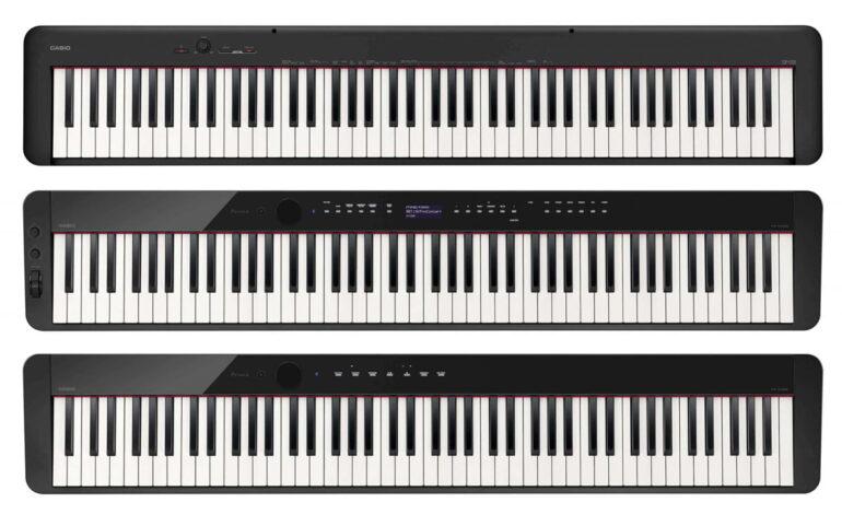 Pianina Casio PX-S3000, PX-S1000 i CDP-S100 w niższych cenach
