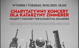 Koncert charytatywny dla Katarzyny Zimmerer