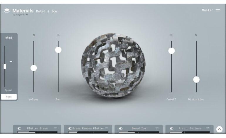 Materials Metal & Ice dla Steinberg HALion