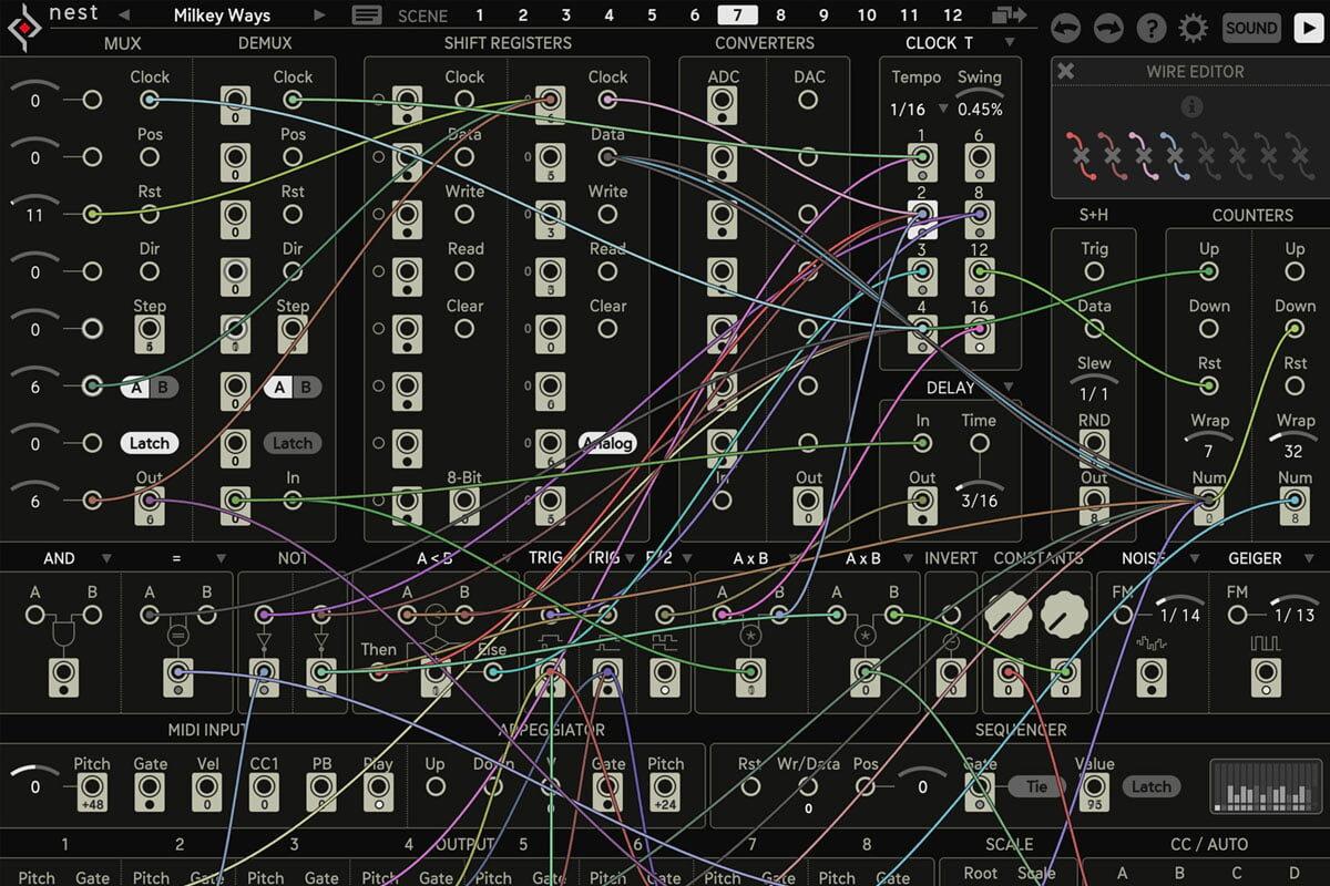 Sugar Bytes Nest – modularny sekwencer programowy